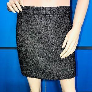 GAP • Mock Tweed Mini Skirt / size (0)